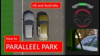 How to PARALLEL PARK. The easiest driving lesson for the UK and Australia