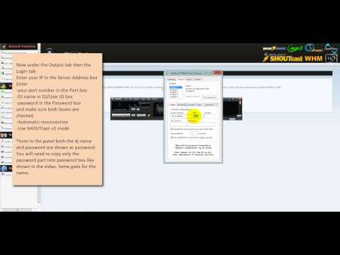 How To SHOUTcast Stream Live With Winamp DSP Plug-In for Second Life