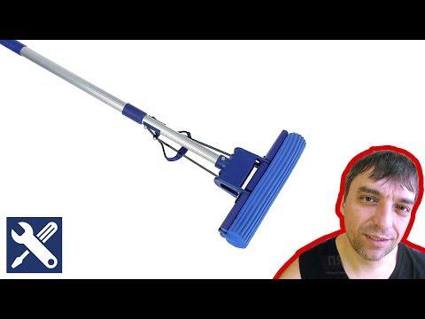 Как починить телескопическую швабру