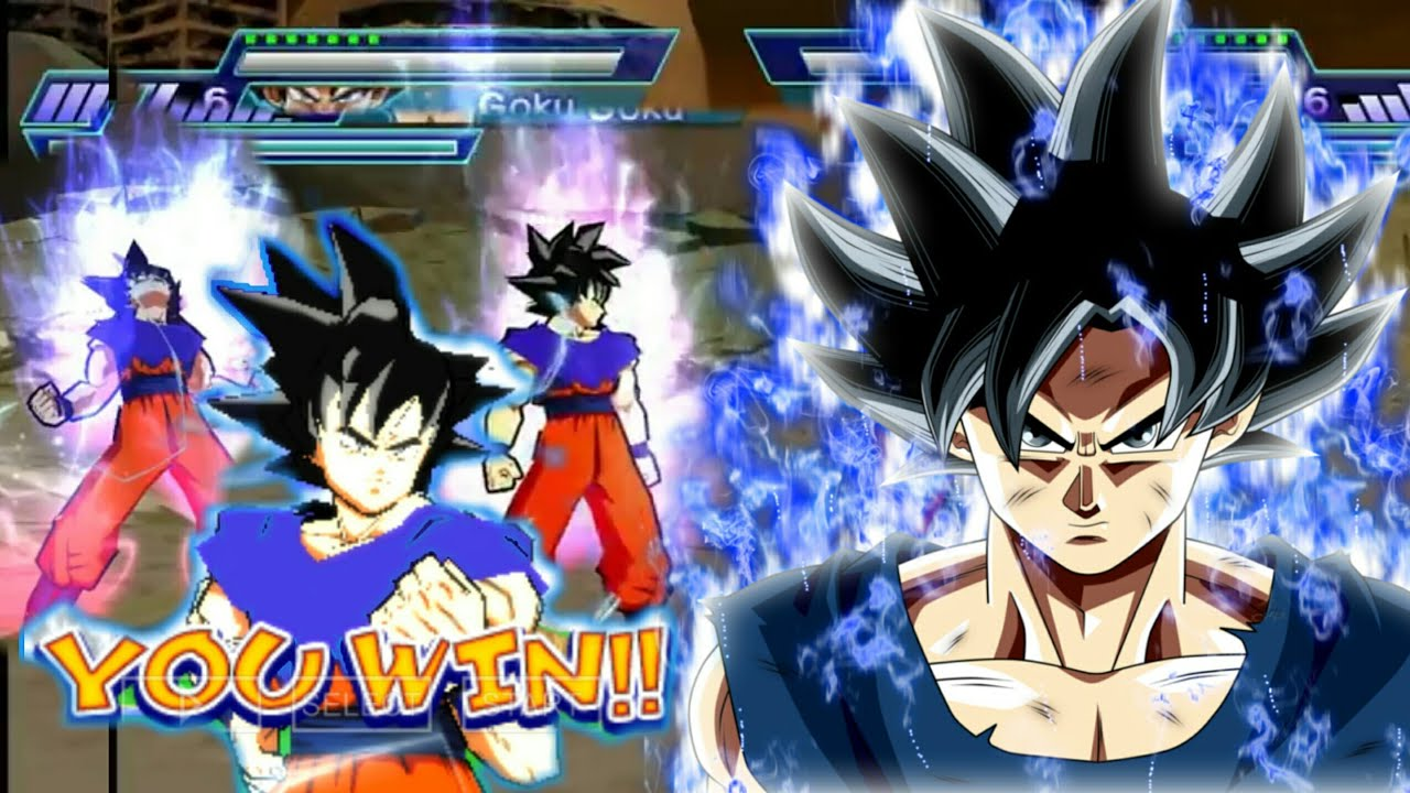 NEW DBZ Shin Budokai 2 MOD With New Ultra Instinct Goku Texture Download
