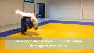 Morote seoi nage & variations (Partie 2)