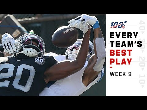 Every Team's Best Play of Week 9! | NFL Highlights