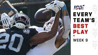 Every Team's Best Play of Week 9! | NFL Highlights