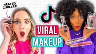 Testing Viral TikTok Makeup *worth the hype?!*