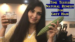 Ayurvedic Oil to Reverse Grey Hair from Roots / Ridge Gourd Oil for Grey hair / Samyuktha Diaries