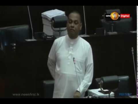 Parliament debates on the method of raising questions