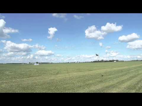 Simon Vaamonde test new SAVOX Motor 5065-500kv Remote control Helicopter