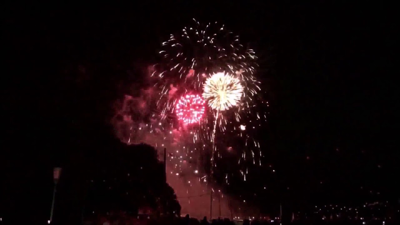 New Year's Eve fireworks in Oklahoma City 2020 - YouTube