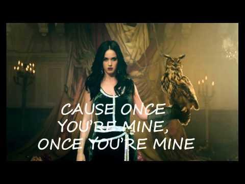 Katy Perry ft Juicy J - Dark Horse Lyrics Video Clear Version HD
