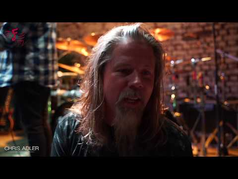 The Chris Adler Experience 2019 India Tour Interview