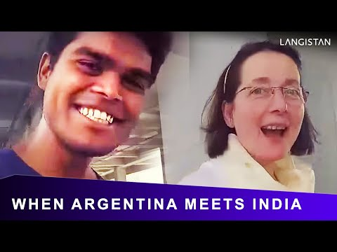 Argentinian Speaking HINDI (When ARGENTINA Meets INDIA)