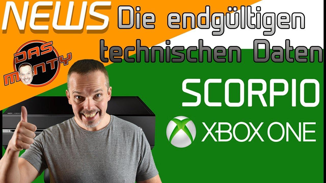 Xbox One Technische Daten