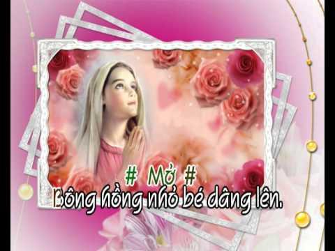 Bông Hồng Dâng Mẹ (pxc) - karaoke playback - http://songvui.org