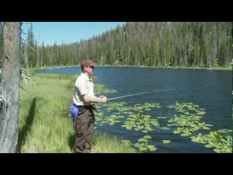 Fall Fishing In The Uinta Mountains