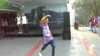 Baile en homenaje a los orishas