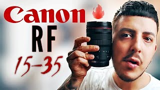 Canon RF 15-35mm f2.8 L IS USM Lens - My Favorite Lens ever ?!