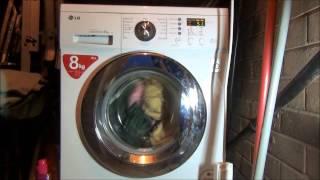 lg f1222td direct drive washing machine cotton quick 60 full cycle