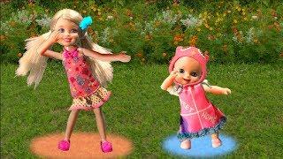 Мультик Барби Мама и Люси: Челси преподала урок детям с площадки куклы для девочек Barbie dolls toys