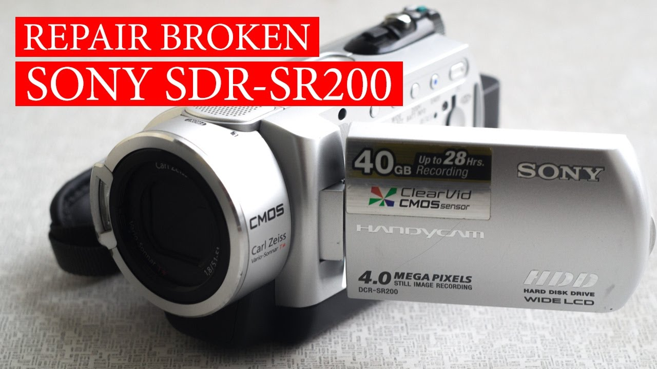 sony handycam eject problem