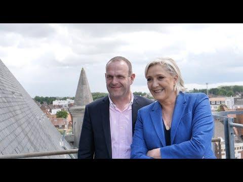 Législatives 2017 : déclaration de candidature de Marine Le Pen