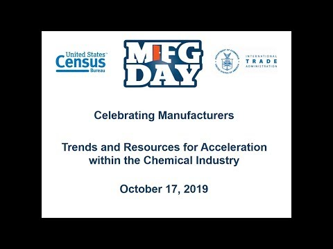 U.S. Census And International Trade Administration Webinar On The Chemical Industry