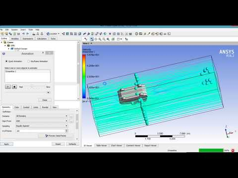 ANSYS Aerodynamics Simulation of a Jeep Car and drag coefficient calculation Tutorial  PART 2