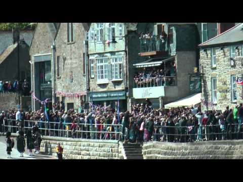When The Queen Came To St Ives.