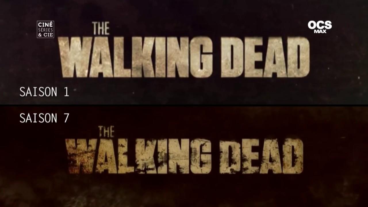 La Loi Des Series L Evolution Du Generique De The Walking Dead