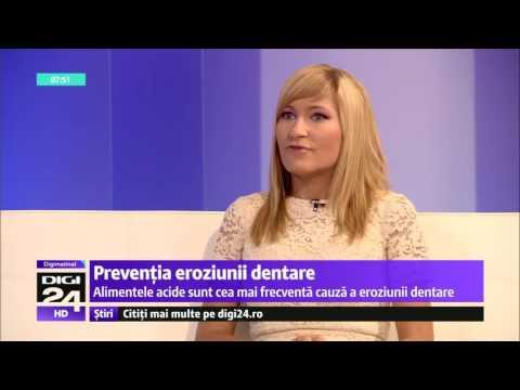 Preventia eroziunii dentare