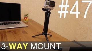 GoPro Hero уроки, поради, інструкції - 3-way mount - 47