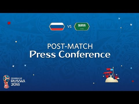 FIFA World Cup™ 2018: Russia - Saudi Arabia - Post Match Press Conference