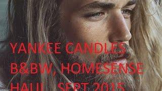 Yankee Family & Friends , B&BW, Homesense Haularama SEPT 2015