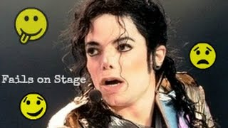 Michael Jackson #1 Stage Fails | Funny - Angry - Bloopers - Awkward [Rare Footage Collection]