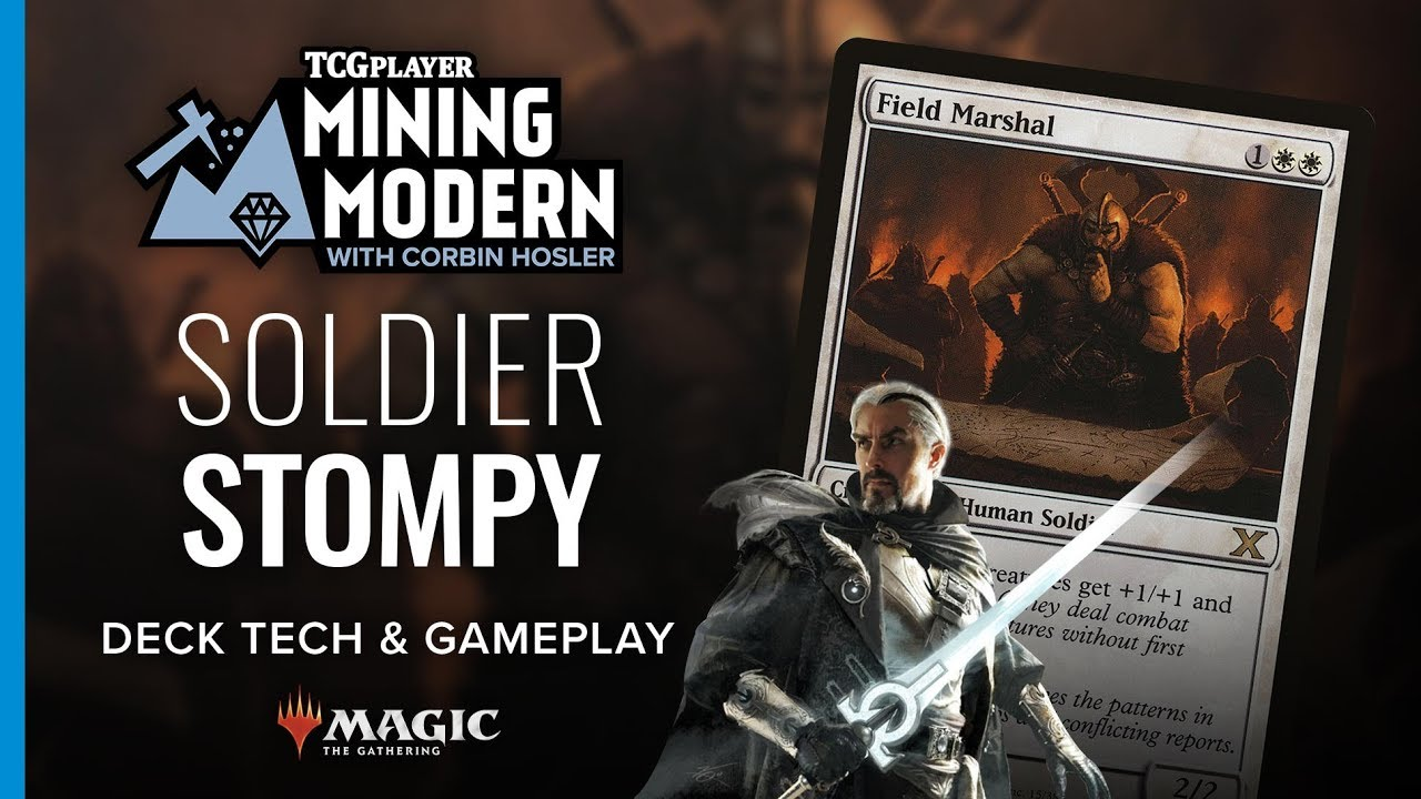 Mining Modern - Soldier Stompy by Corbin Hosler - Magic the