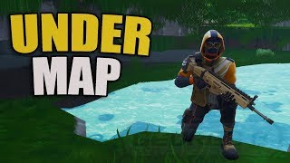 *NEW* How To Get Under The Map In Fortnite | Underground Glitch PS4/XBOX
