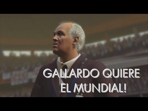 Gallardo quiere el mundial  FIFA World Cup 2014 PS3