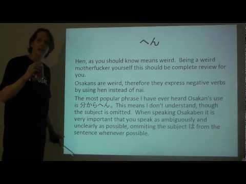 How to speak Osakaben