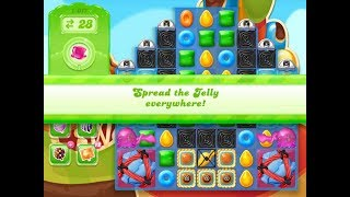 Candy Crush Jelly Saga Level 1017 (3 stars, No boosters)