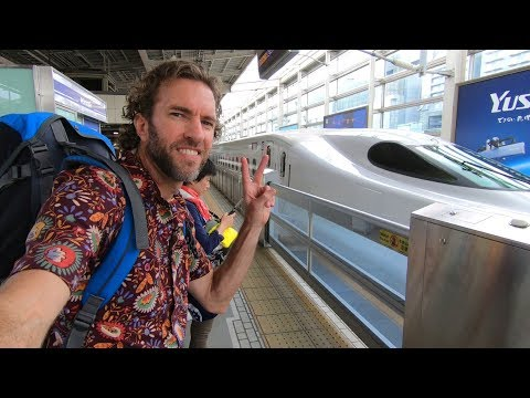 How is Train Travel in JAPAN? Bullet Train Experience
