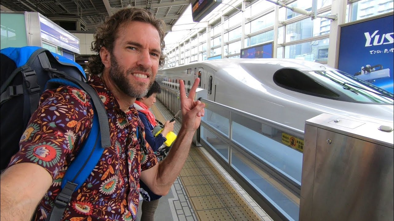 How Is Train Travel in JAPAN? | Bullet Train Experience