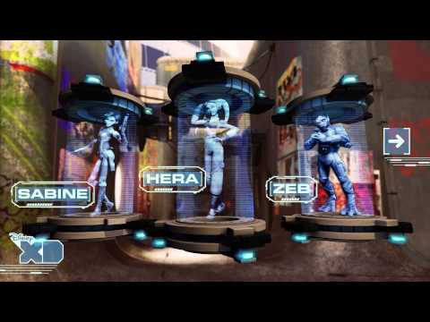 STAR WARS REBELS INTERACTIVE CHARACTER PROFILES – OFFICIAL – HD