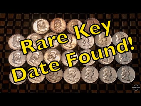 Rare Key Date Benjamin Franklin Silver Half Dollar Found!
