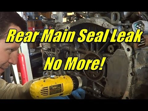 How to Replace the Rear Main Seal on a Subaru!