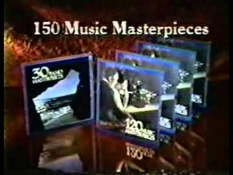 TV COMMERCIAL  120 classical masterpieces Album  John Williams 70s 80s