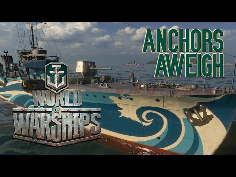 World of Warships - Anchors Aweigh Kamikaze R