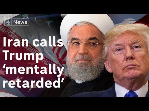 Iranian President calls White House