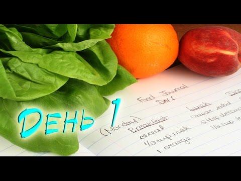 Дневник правильного питания / День 1 - Простые вкусные домашние видео рецепты блюд