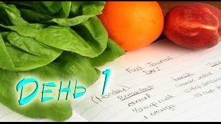 Дневник правильного питания / День 1