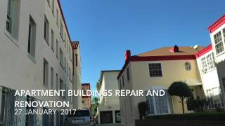 Apartment Buildings Repair $ Renovation  27 January 2017