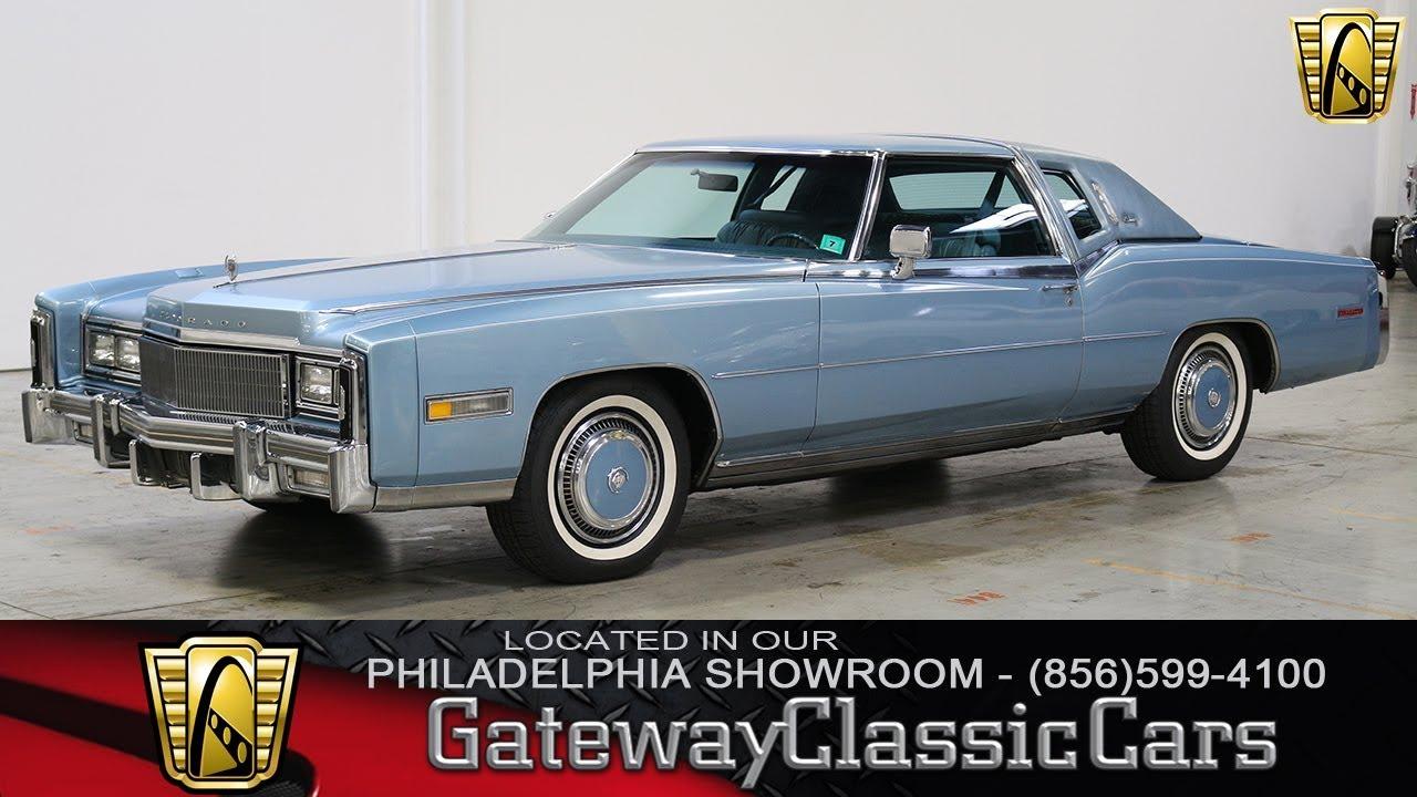 1977 Cadillac Eldorado Barritz Gateway Classic Cars Philadelphia